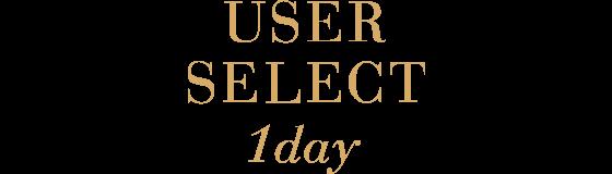 selectFAIRY USER SELECT 1day